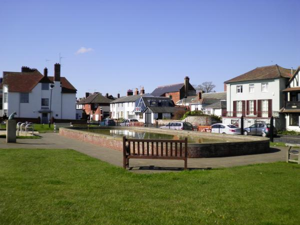 Boating Pond - Aldeburgh